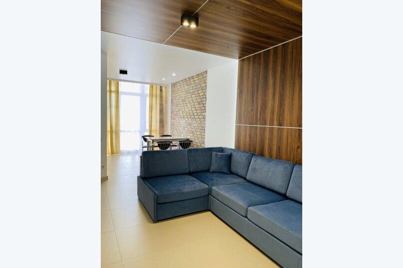 3-комн. квартира, 72.5 кв.м. на 5 человек, улица Авроры, 64, Восход, Ялта - Фотография 1