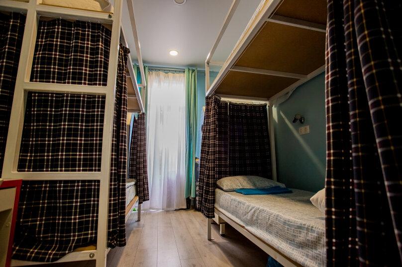 Кровать в общем 4-местном номере для женщин, улица имени Калинина, 468, Краснодар - Фотография 1