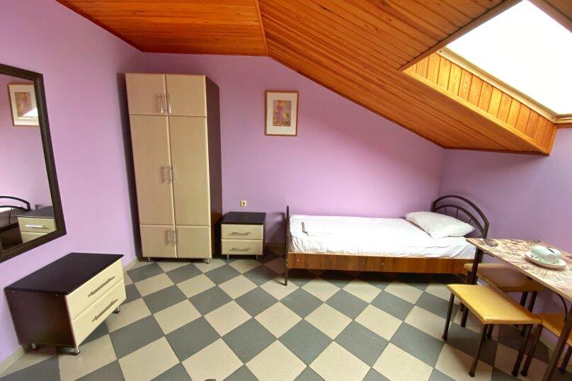 Трёхместный номер с 3-мя односпальными кроватями, Прибрежная улица, 1А, Архипо-Осиповка - Фотография 1