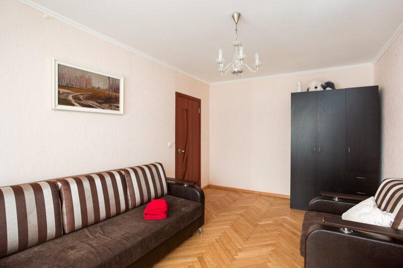 1-комн. квартира, 34 кв.м. на 4 человека, улица Цандера, 7, Москва - Фотография 3