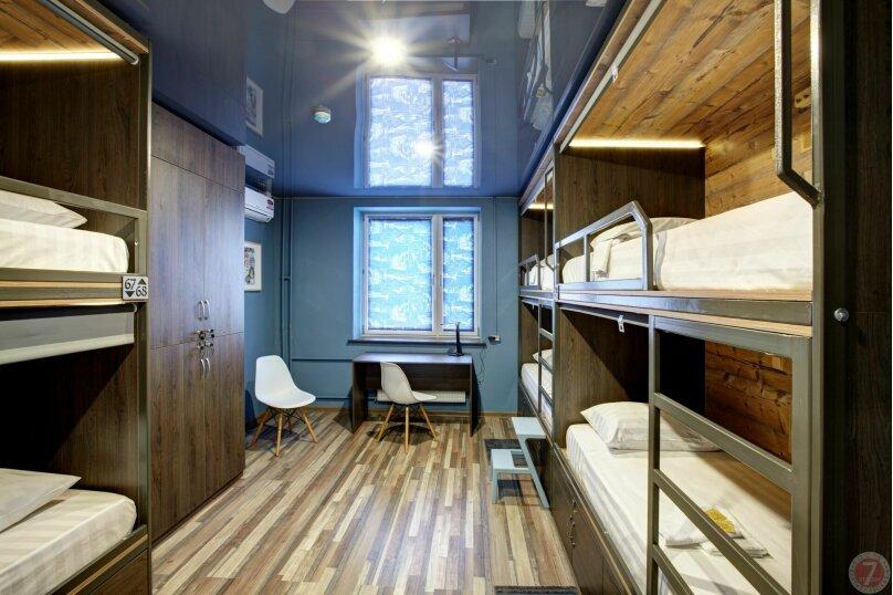 Верхнее место в общем шестиместном номере, Братиславская улица, 6, Москва - Фотография 1