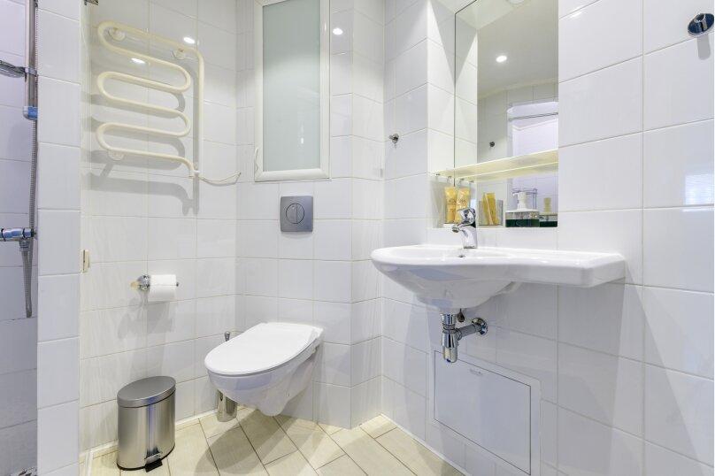 2-комн. квартира, 65 кв.м. на 5 человек, Миллионная улица, 17, Санкт-Петербург - Фотография 17