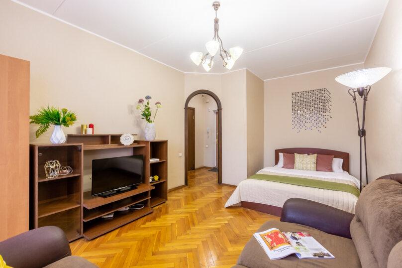 1-комн. квартира, 33 кв.м. на 4 человека, Верхняя улица, 3к1, Москва - Фотография 2