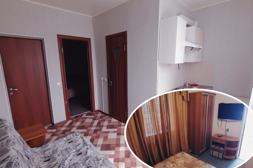 Отдельная комната, улица Самбурова, 82, Анапа - Фотография 1