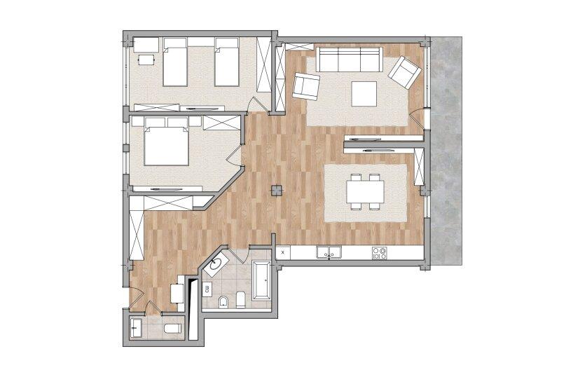 Апарт-отель Дача Штейнгольца, Парковая улица, 5 на 7 номеров - Фотография 140