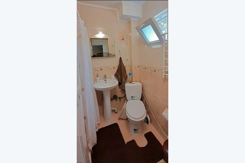 Номер-студио 1й этаж, 25 кв.м. на 3 человека, 1 спальня, улица Васильченко, 7, Симеиз - Фотография 6