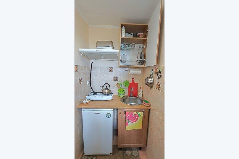 Номер-студио 1й этаж, 25 кв.м. на 3 человека, 1 спальня, улица Васильченко, 7, Симеиз - Фотография 7