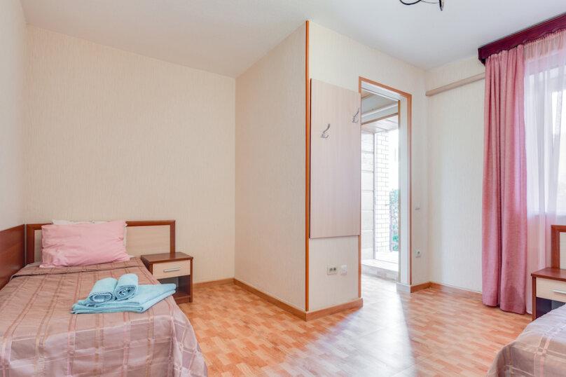 Двухкомнатный четырехместный «Полулюкс» №1, Черноморская улица, 164Б, Витязево - Фотография 1