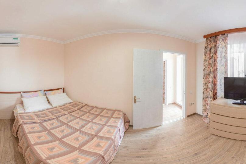 Двухкомнатный четырехместный «Полулюкс» №2, Черноморская улица, 164Б, Витязево - Фотография 1