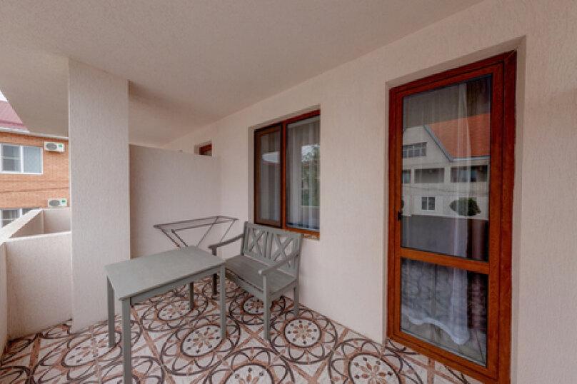 «Полулюкс» с балконом Одноместный , Черноморская улица, 164Б, Витязево - Фотография 3