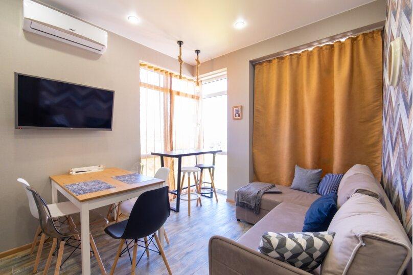 3-комн. квартира, 45 кв.м. на 6 человек, Нагорный тупик, 13кА, Адлер - Фотография 1