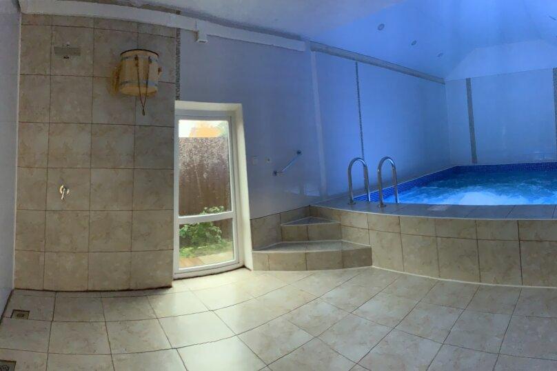 Дом с сауной и бассейном, 200 кв.м. на 20 человек, 4 спальни, Куликовская улица, 39, район Востряково, Домодедово - Фотография 33