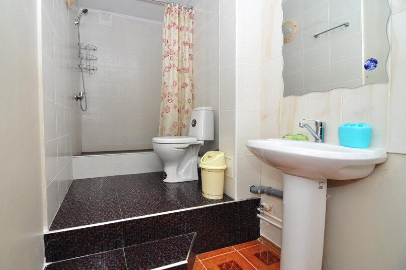 Двухместный номер с двухспальной кроватью голуб, улица Самбурова, 42Б, Анапа - Фотография 2