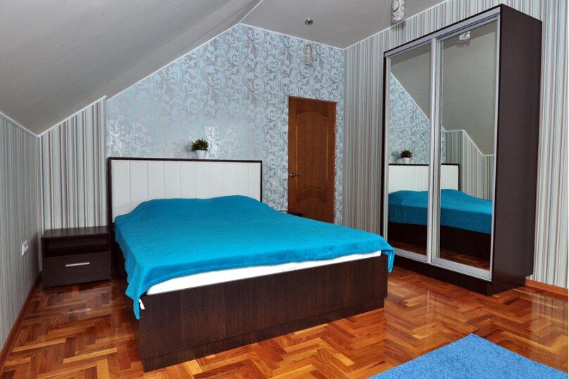 Двухместный номер с двухспальной кроватью голуб, улица Самбурова, 42Б, Анапа - Фотография 1