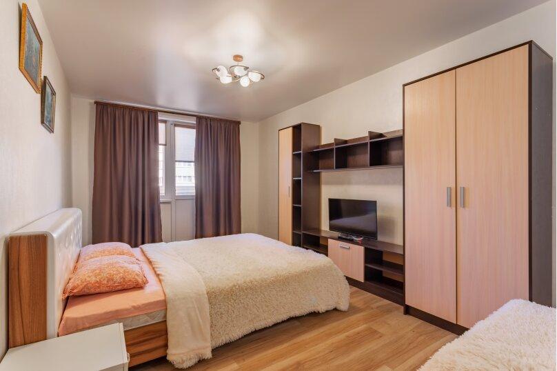 1-комн. квартира, 50 кв.м. на 3 человека, улица Дыбенко, 27А, Самара - Фотография 10