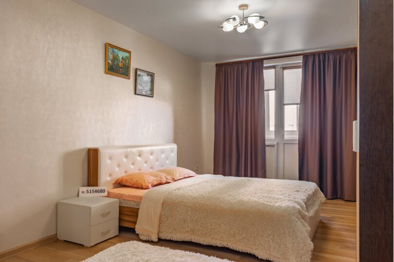 1-комн. квартира, 50 кв.м. на 3 человека, улица Дыбенко, 27А, Самара - Фотография 11