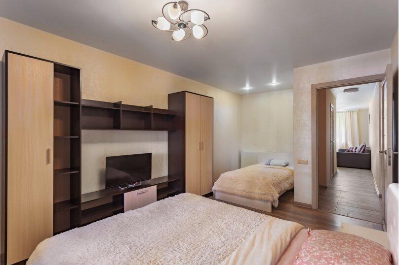 1-комн. квартира, 50 кв.м. на 3 человека, улица Дыбенко, 27А, Самара - Фотография 15