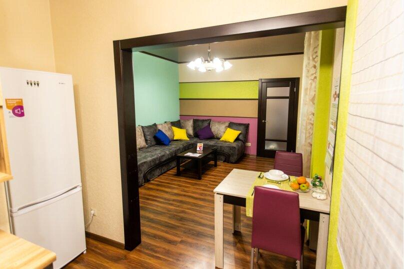 2-комн. квартира, 57 кв.м. на 4 человека, улица Республики, 58, Тюмень - Фотография 17