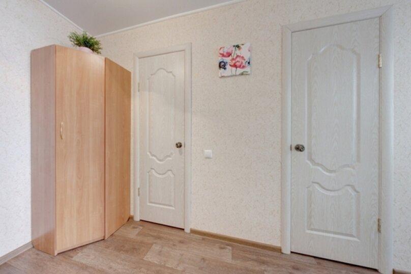1-комн. квартира, 35 кв.м. на 3 человека, улица Цвиллинга, 53, Челябинск - Фотография 11