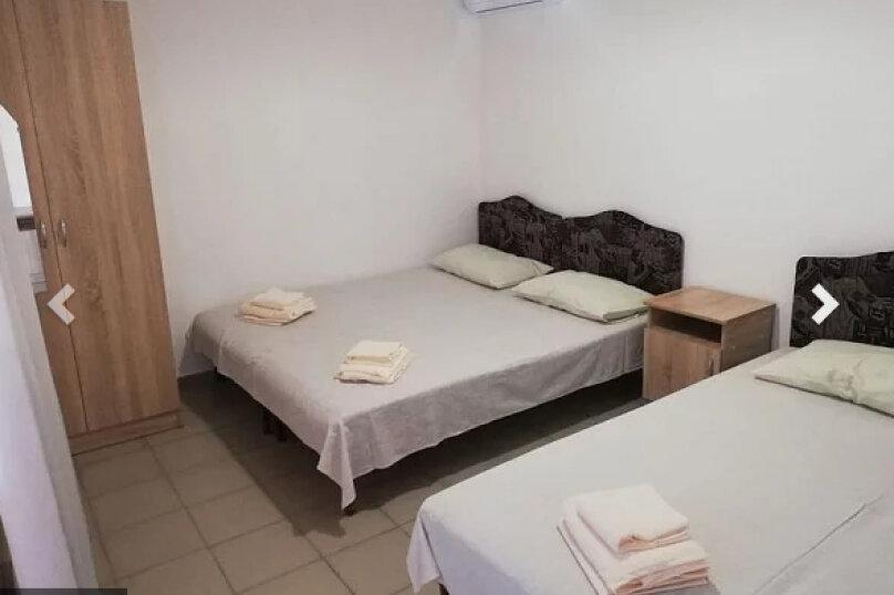 4-х местная комната (с кондиционеромм и общим санузлом), переулок Строителей, 9, Кабардинка - Фотография 1