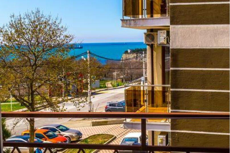 Стандартный трёхместный номер с видом на море, Просторная улица, 1, Геленджик - Фотография 2