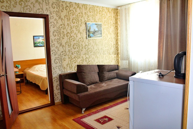 """""""Люкс"""" (2-комнатный), Приморская улица, 39, Ольгинка - Фотография 4"""