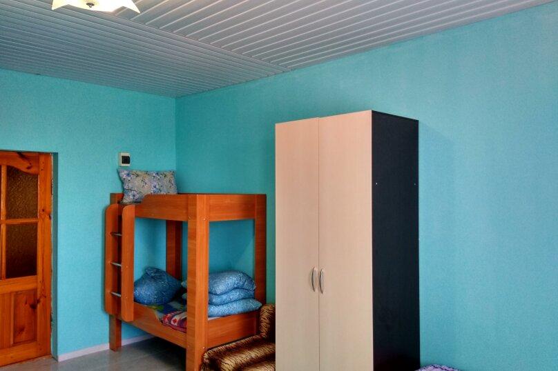 Однокомнатный  номер со всеми удобствами и двухъярусной кроватью, СТ Приморье, Ясная ул., 84, Заозерное - Фотография 18