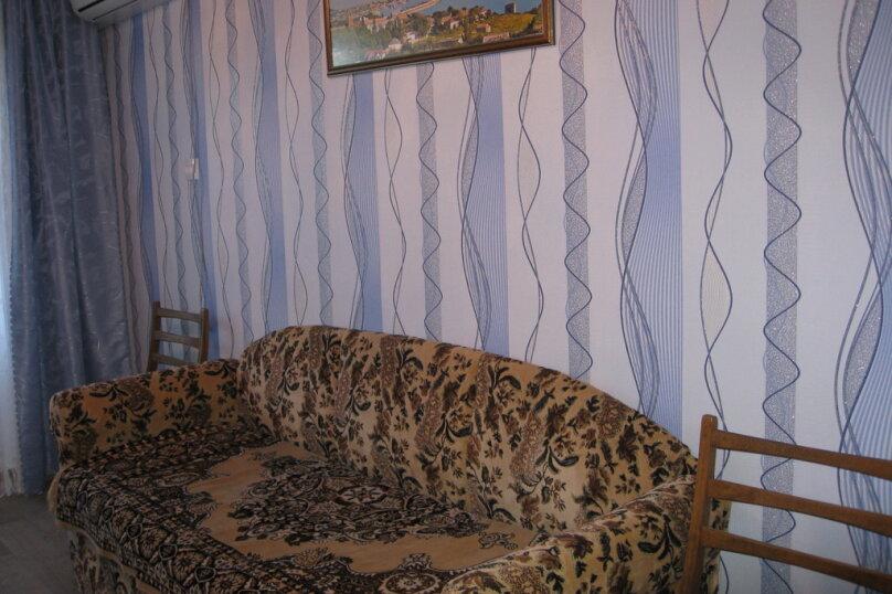 2-комн. квартира, 42 кв.м. на 4 человека, Нахимова, 25, поселок Орджоникидзе, Феодосия - Фотография 8