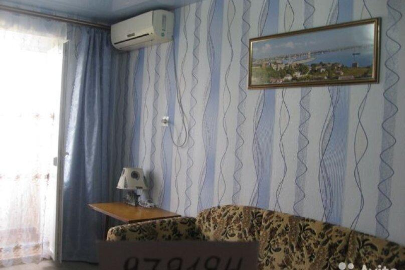 2-комн. квартира, 42 кв.м. на 4 человека, Нахимова, 25, поселок Орджоникидзе, Феодосия - Фотография 9