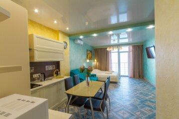 1-комн. квартира, 40 кв.м. на 4 человека, Морской спуск, 3, Ялта - Фотография 1