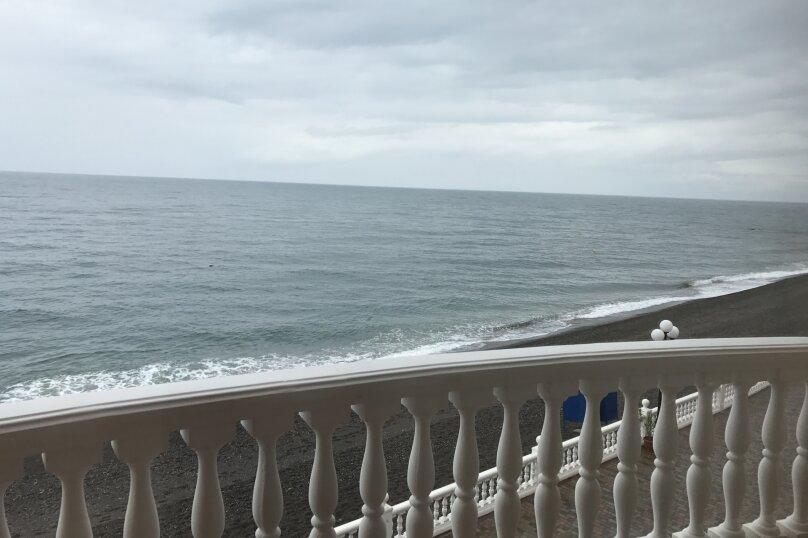 Трёхместный люкс с видом на море, Прибрежная, 1, коттедж 5/2, Рыбачье - Фотография 8