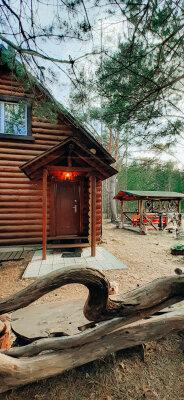 """Дом """"Лесной"""", 72 кв.м. на 4 человека, 1 спальня, д. Противье, Рыбацкая, 1, Весьегонск - Фотография 1"""