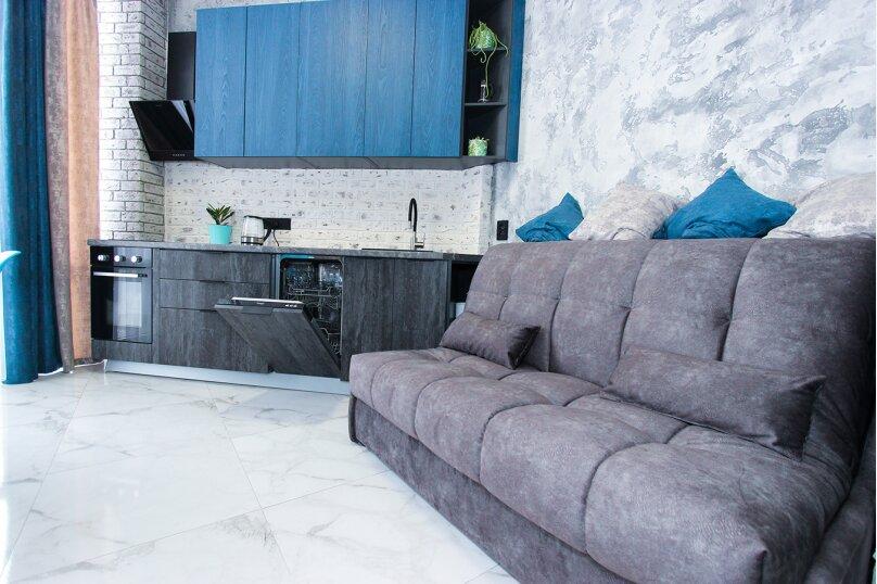 2-комн. квартира, 31 кв.м. на 4 человека, Черноморская набережная, 1Д, Феодосия - Фотография 6