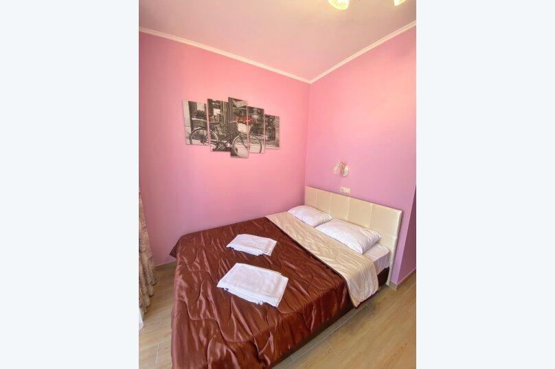 Двухместный номер с большой кроватью и собственной ванной комнатой(розовый), Прибрежная, 1А, Архипо-Осиповка - Фотография 3