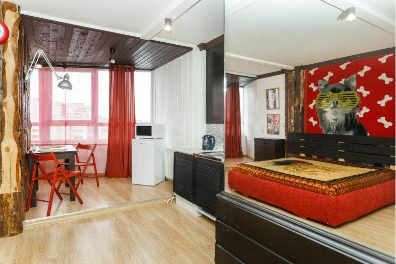 1-комн. квартира, 32 кв.м. на 4 человека, улица Щорса, 105, Екатеринбург - Фотография 13
