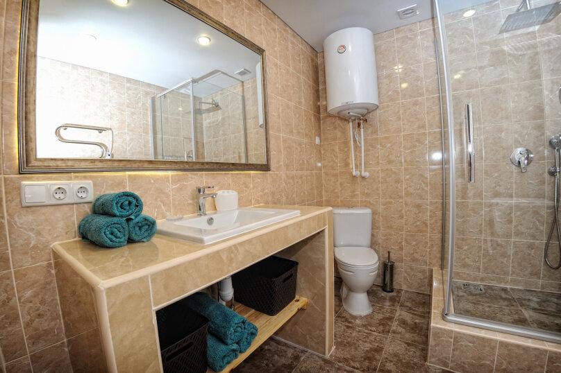 Трехкомнатный люкс, улица Анджиевского, 52, село Мысовое - Фотография 6