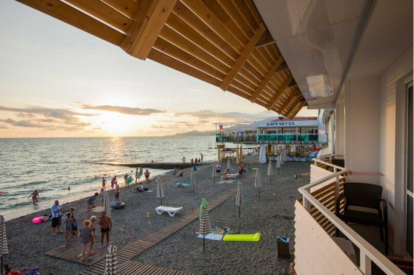 Двухместный номер с 1 кроватью, балконом и видом на море, Аллейная улица, 11А, Адлер - Фотография 4