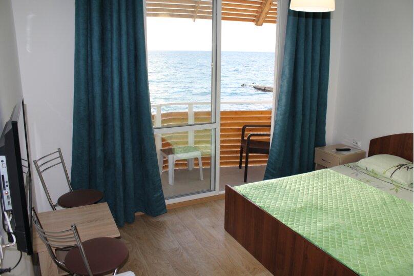 Двухместный номер с 1 кроватью, балконом и видом на море, Аллейная улица, 11А, Адлер - Фотография 7