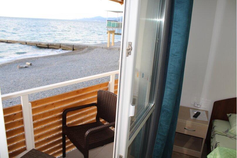 Двухместный номер с 1 кроватью, балконом и видом на море, Аллейная улица, 11А, Адлер - Фотография 9