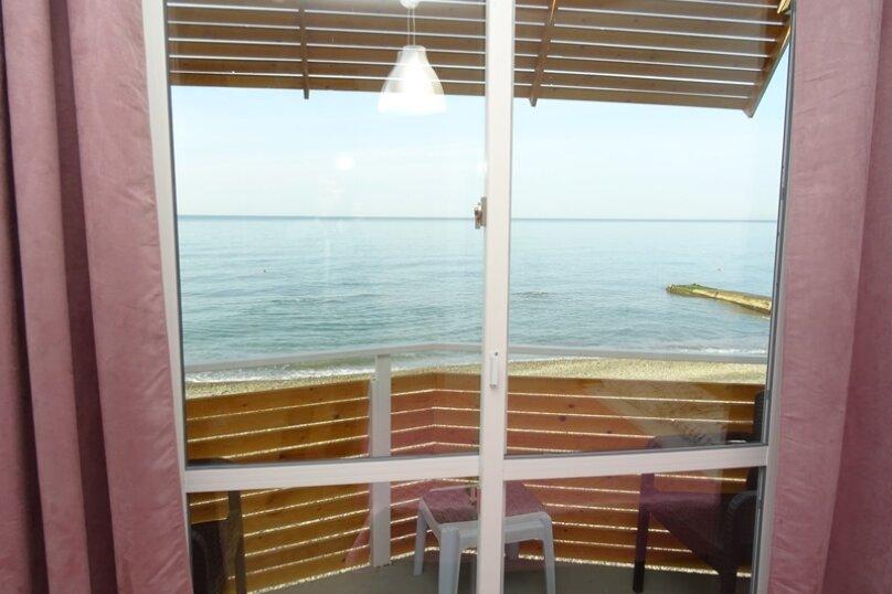 Двухместный номер с 2 раздельными кроватями, балконом и видом на море, Аллейная улица, 11А, Адлер - Фотография 6