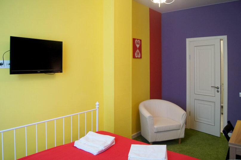Двухместный с двуспальной кроватью стандарт, улица Бойко-Павлова, 7, Хабаровск - Фотография 3