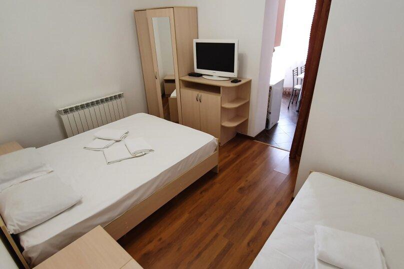 1-комн. квартира, 27 кв.м. на 3 человека, Красноармейская улица, 72, Витязево - Фотография 15