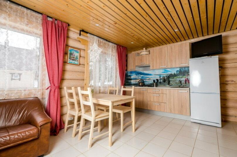 """Дом, 60 кв.м. на 7 человек, 2 спальни, д. Микли, """"Хутор Медовое"""", Лахденпохья - Фотография 24"""