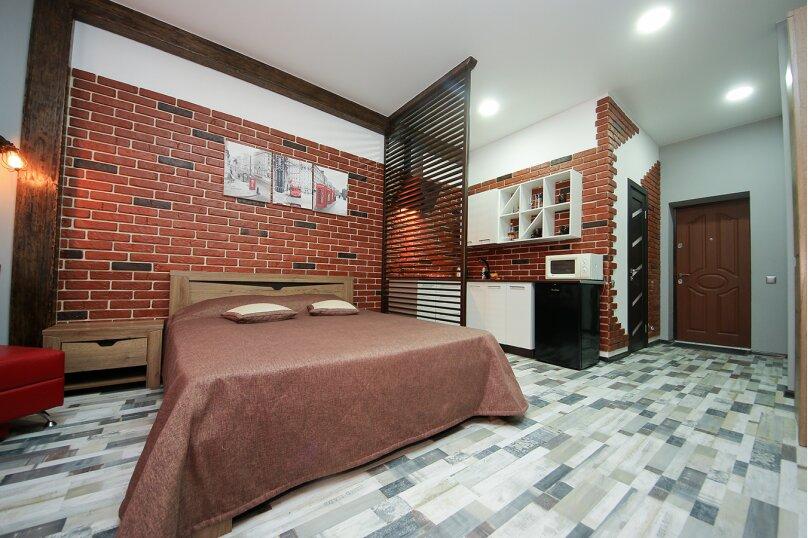 1-комн. квартира, 30 кв.м. на 4 человека, Черноморская набережная, 1Д, Феодосия - Фотография 1