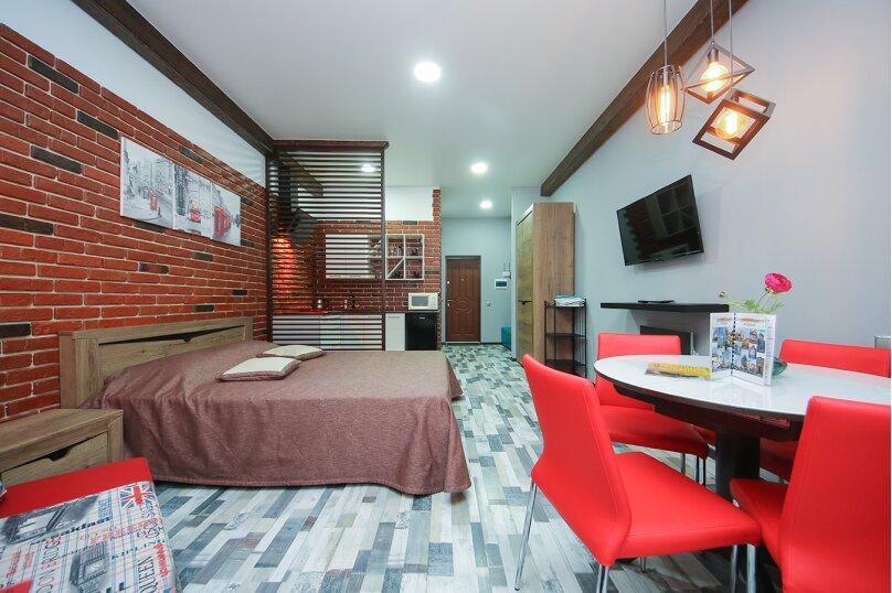 1-комн. квартира, 30 кв.м. на 4 человека, Черноморская набережная, 1Д, Феодосия - Фотография 6