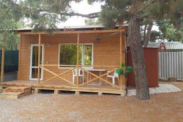 Дачный домик, 18 кв.м. на 4 человека, 1 спальня, Тенистая аллея, 6, Судак - Фотография 1