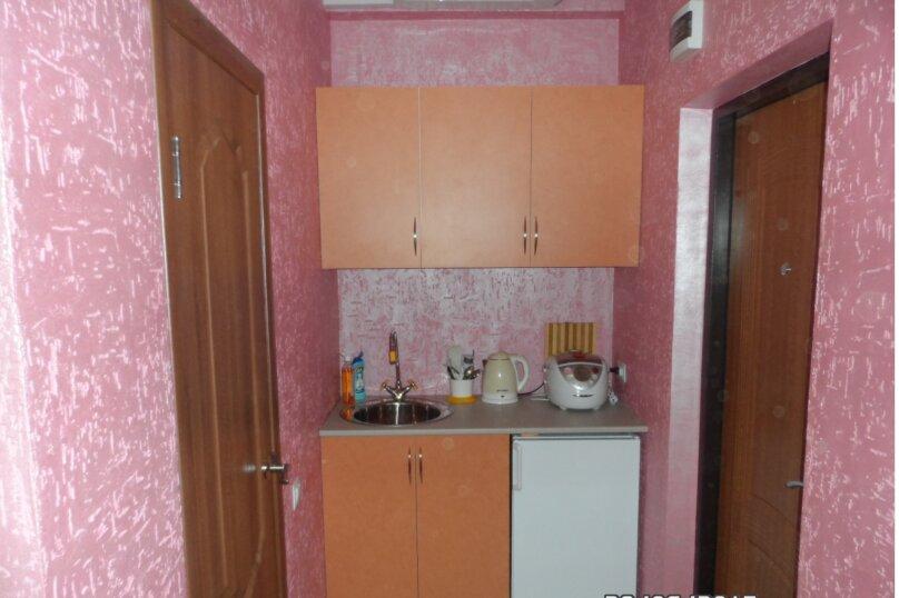 1-комн. квартира, 22 кв.м. на 4 человека, Сигнальная улица, 30Ас8, Черноморское - Фотография 11