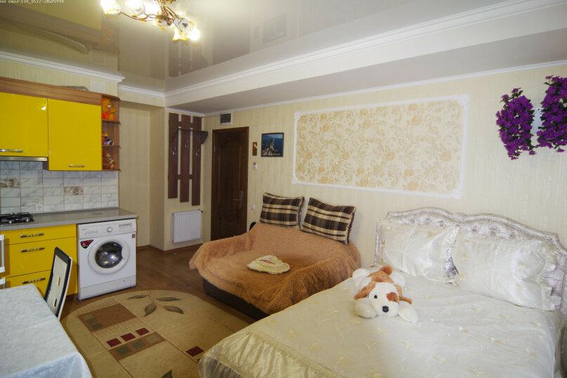 Трехместный номер Делюкс с видом на море, улица Саранчева, 36, Алушта - Фотография 4
