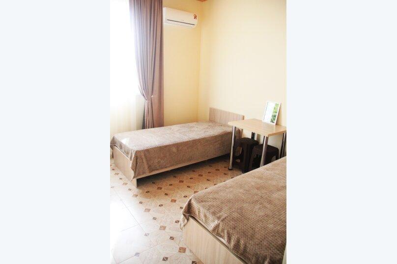 Комфортный Двухместный номер с 2 отдельными кроватями и душем, улица Виктора Щепетева, 4, Анапа - Фотография 1