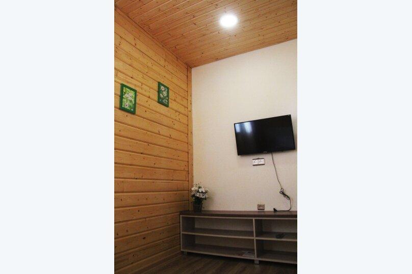 Четырехместный  2х комнатный номер с собственной ванной комнатой и миникухней, улица Виктора Щепетева, 4, Анапа - Фотография 1
